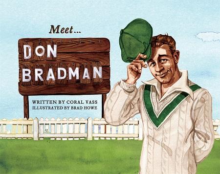 Vass brings Bradman to life for Aussie children